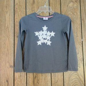 hanna andersson Long Sleeved Star Shirt
